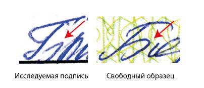 Почерковедческая Экспертиза Подписи Образец - фото 9